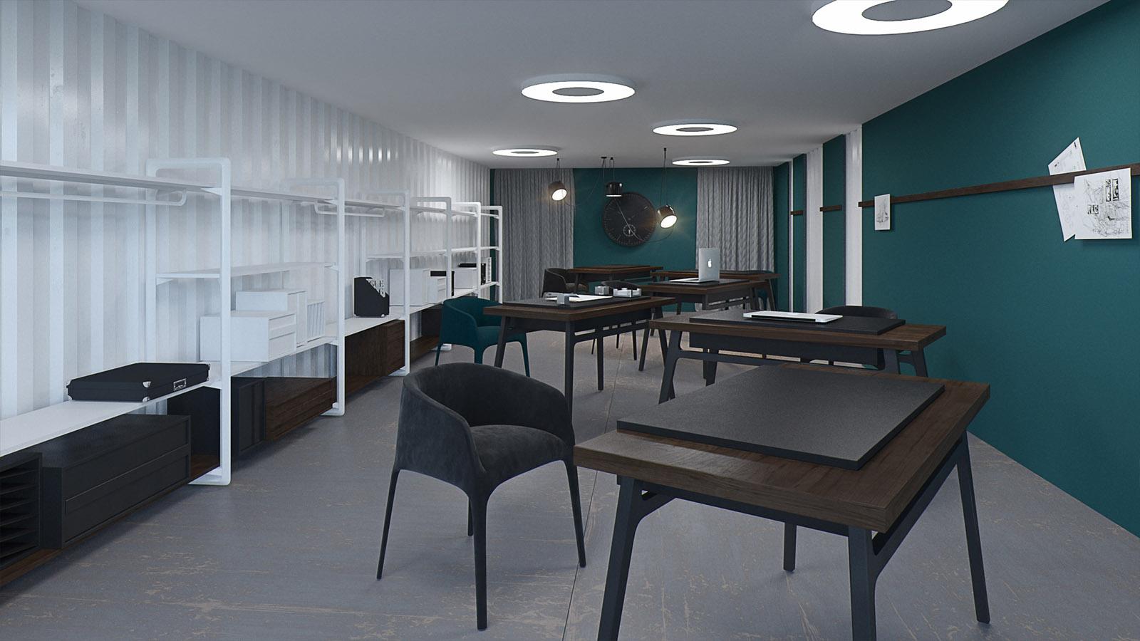 Дизайн интерьера коворкинга
